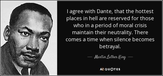 MLK Silence